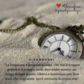 Tra il troppo presto e il troppo tardi dovrebbe esserci un lungo tempo giusto